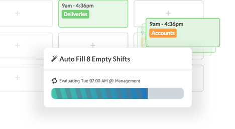 Deputy AU Auto Scheduling Software