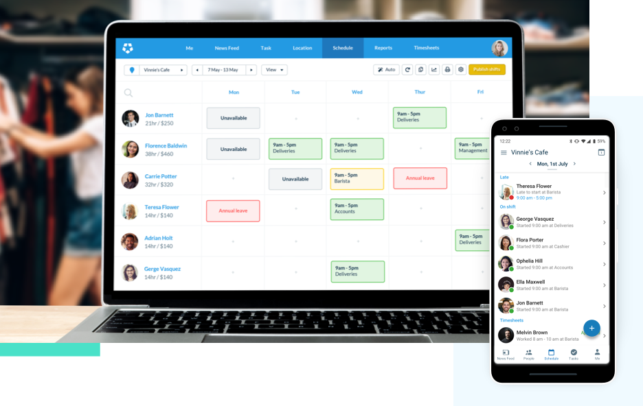 Deputy US Scheduling Software
