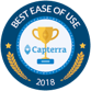 Capterra ease of use award