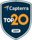 Capterra top 20 award