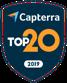 Capterra top 20 award