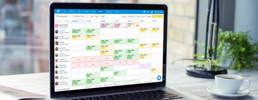 Arrange employee schedules responsibly