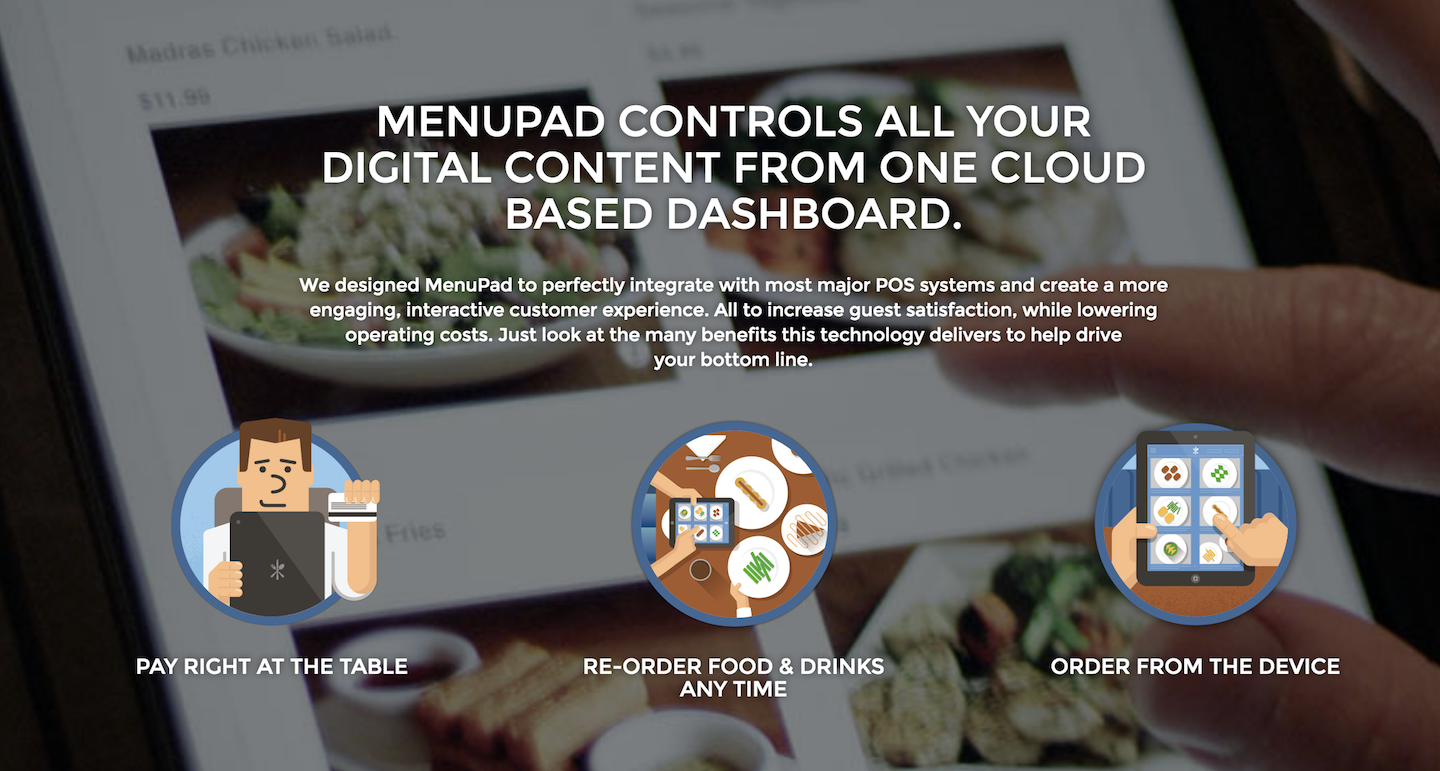 MenuPad-website