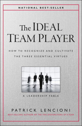 the ideal team player-lencioni
