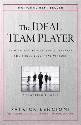 the ideal team player-lencioni
