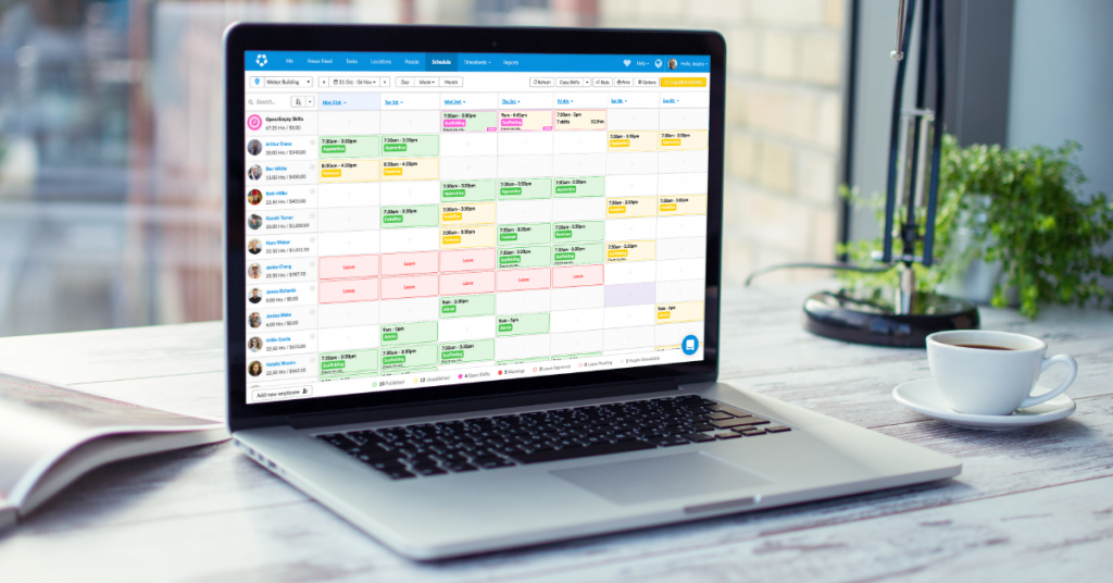 Deputy-desktop schedule