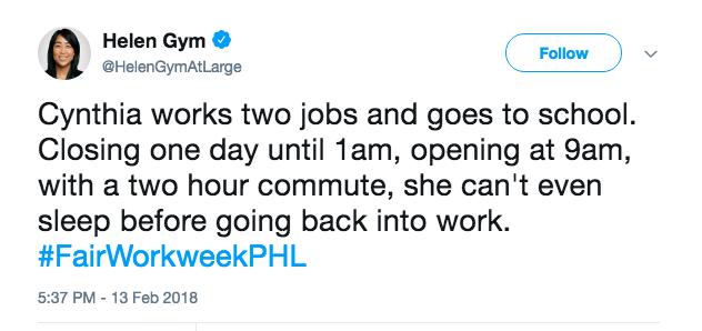 Philadelphia FWW-tweet