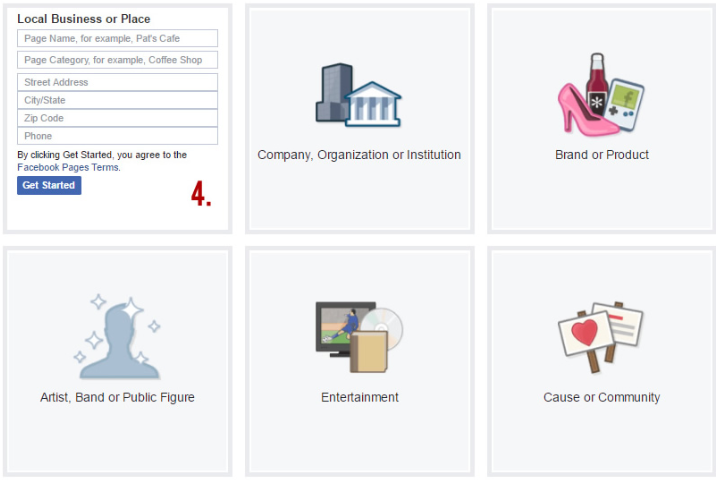Choosing the Right Facebook Page Template for Your Small Business