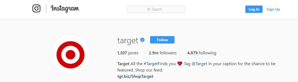 Target Instagram