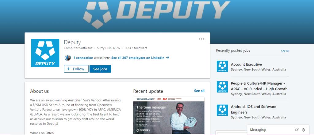 Deputy LinkedIn