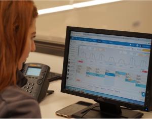 Deputy scheduling software on a desktop device